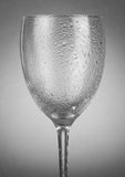 Pusty wineglass Fotografia Royalty Free