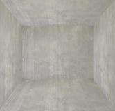 Pusty wnętrze dla projekta, betonowa ściana pusty pokój Przestrzeń dla teksta i obrazka Projekta styl i pomysły Obrazy Royalty Free