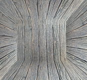 Pusty wnętrze dla projekta, drewno ściana pusty pokój Przestrzeń dla teksta i obrazka Projekta styl i pomysły Obrazy Royalty Free