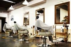 Pusty zakład fryzjerski Zdjęcie Royalty Free