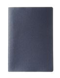 Pusty błękitny paszport Fotografia Stock
