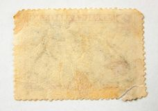 pusty znaczka pocztowego Zdjęcie Royalty Free