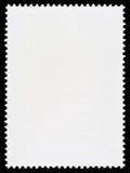 Pusty znaczka pocztowego szablon Zdjęcia Stock