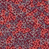 Pustych trójboków bezszwowy wzór ilustracji
