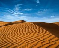 Pustynia afryka pólnocna Obrazy Royalty Free