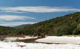 Pustynia Agriates w Corsica Zdjęcia Royalty Free