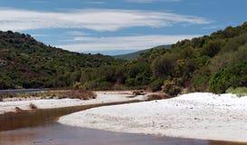 Pustynia Agriates w Corsica Zdjęcia Stock