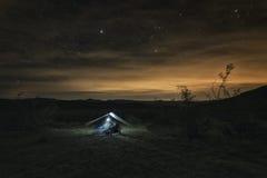 pustynia campingowa Zdjęcia Stock