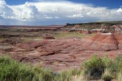 pustynia malował Fotografia Stock