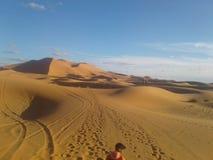 pustynia Morocco Zdjęcie Royalty Free