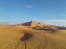 pustynia Morocco Obraz Stock