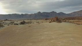 Pustynia na Mars wydmy zbiory