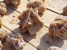 Pustynia różany kryształ, Sahara Zdjęcie Royalty Free