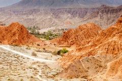 Pustynia sceniczna w Purmamarca Fotografia Stock