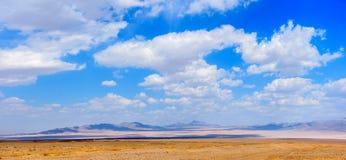 Pustynia w środkowej części Iran Zdjęcia Stock