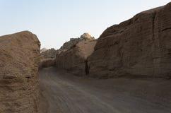 Pustynia w Afryka ATV safari Wycieczki w Egipt Obrazy Royalty Free