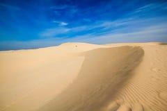 Pustynia w Vietnam Zdjęcie Stock