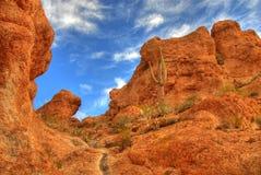 pustynna 22 góry Zdjęcia Royalty Free