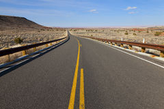pustynna autostrada Fotografia Stock