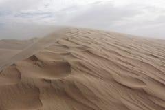 Pustynna burza piaskowa Zdjęcia Royalty Free
