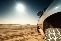 pustynna ciężarówka Zdjęcia Royalty Free