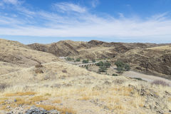 Pustynna dolina Fotografia Stock