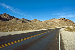 pustynna droga Zdjęcie Stock