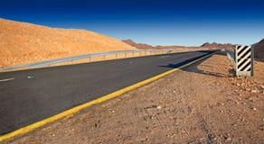 pustynna droga Obrazy Royalty Free