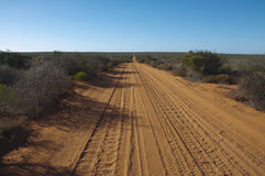 Pustynna droga, Francois Peron park narodowy fotografia stock