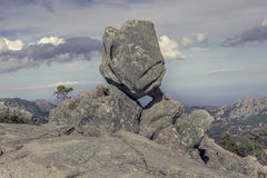 pustynna formaci Israel negev skała dziwaczna obraz stock