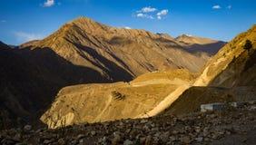 Pustynna góra Zdjęcia Royalty Free