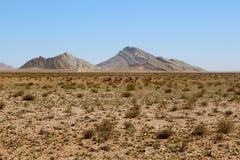Pustynna góra Zdjęcia Stock