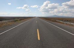 pustynna highway Zdjęcie Stock