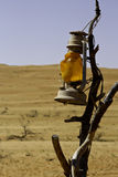 pustynna lampa fotografia stock