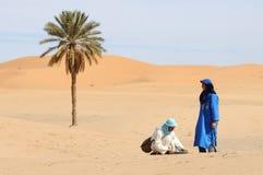 pustynna marokańska scena obrazy stock