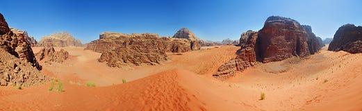 pustynna panorama Zdjęcie Stock