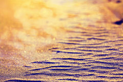 Pustynna piasek tekstura Zdjęcie Stock