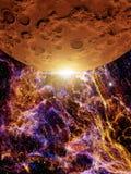 Pustynna planeta Zdjęcie Royalty Free