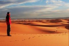 pustynna podwyżkę Zdjęcie Royalty Free