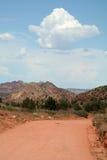pustynna road Obraz Stock