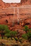 pustynna siklawa Zdjęcie Royalty Free