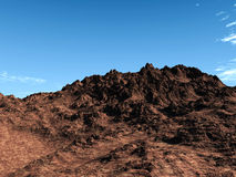 pustynna skała Obraz Royalty Free