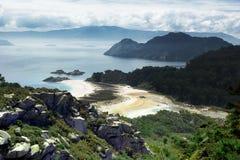 Pustynna wyspa Obraz Royalty Free