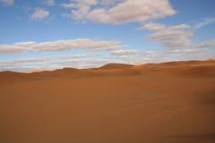 pustynne diuny Zdjęcia Stock