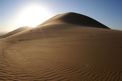 pustynne diuny Obraz Stock