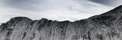 Pustynne doliny skały warstwy Zdjęcia Stock