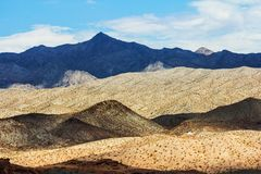 Pustynne góry Obraz Stock