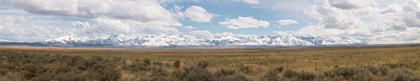 pustynne góry Zdjęcia Royalty Free