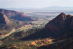 Pustynne góry Fotografia Stock