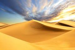 Pustynne piasek diuny Zdjęcie Royalty Free